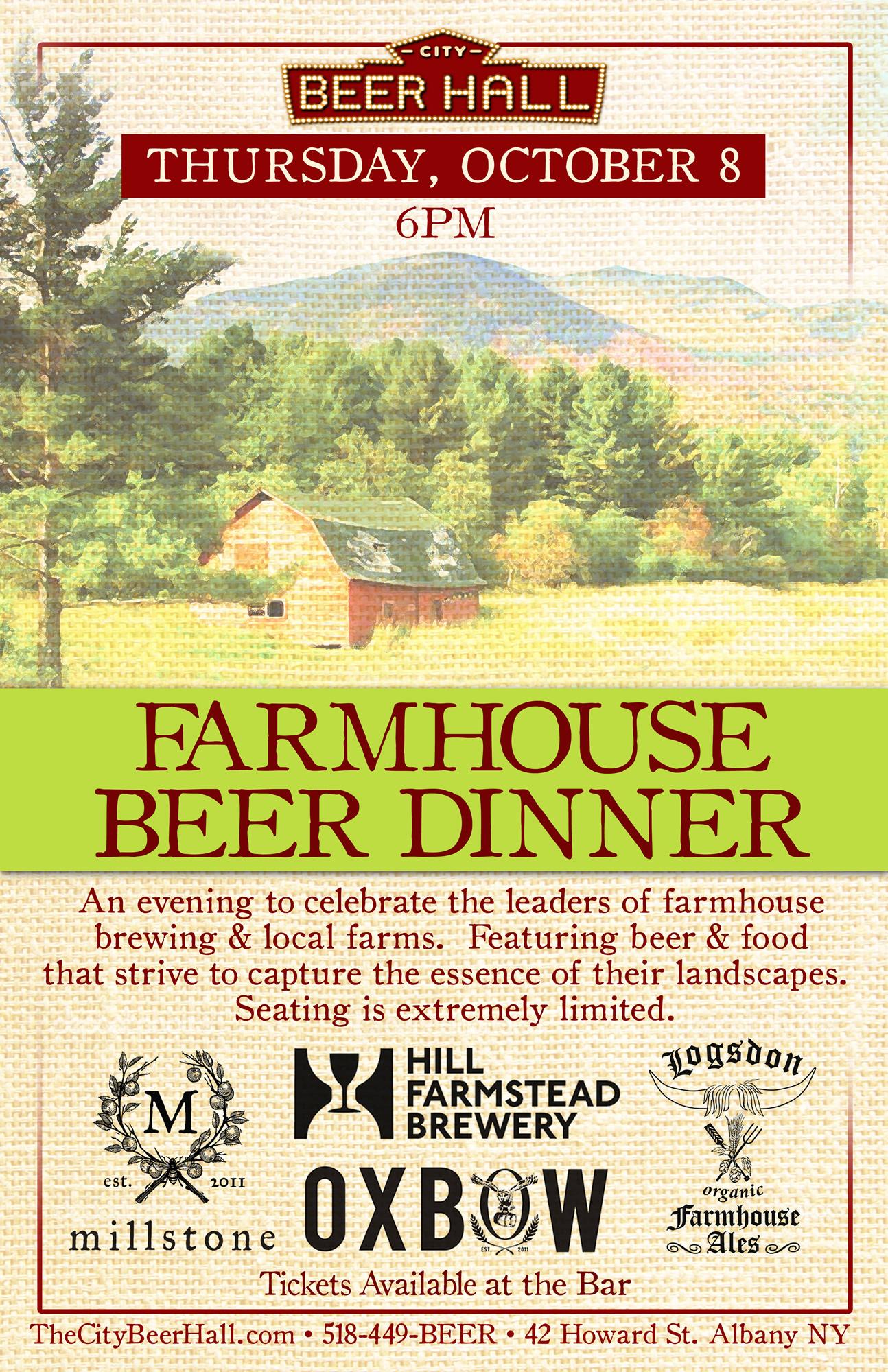 Farmhouse Beer Dinner